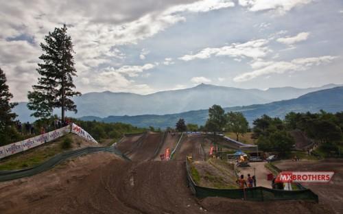 Motocross Strecke Arco - Trentino - Italien
