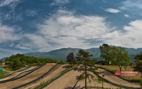 Motorcrossbaan Arco - Trentino - Italy