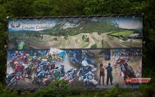 Motokross Banen Arco - Trentino - Italy