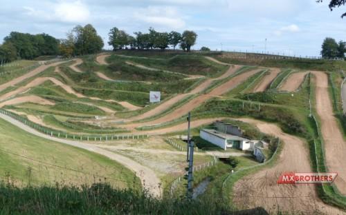 Motocross Strecke Ernée - France