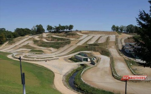 Motocross track Ernée - France