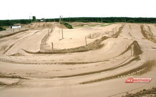 180 Corner Motocross track Lommel