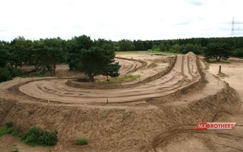 Another very Sandy corner Motocross track Lommel