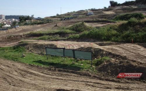 Motocross Strecke Village Gino Meli - Noto - Italien