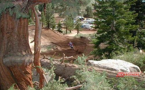 Motocross Strecke Mammoth Mountain - California
