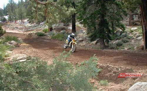 Motorcrossbaan Mammoth Mountain - California