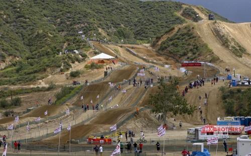 Motocross circuit Glen Helen - California