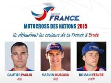 2015 MXoN Team France