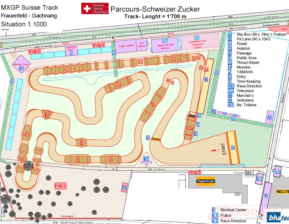 Motocross track Frauenfeld Gachnang Frauenfeld Thurgau
